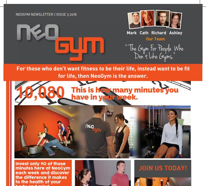 Neo Gym Newsletter Issue 3